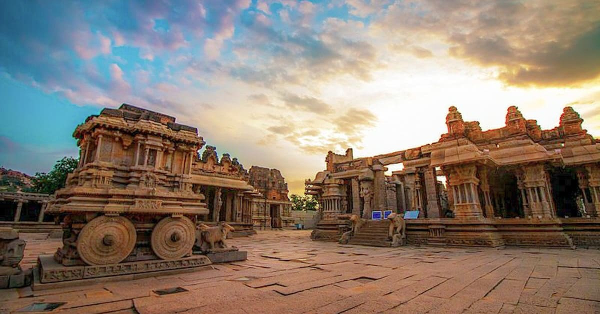 The Musical Pillars Of The Vittala Temple in Hampi – Earth is ...